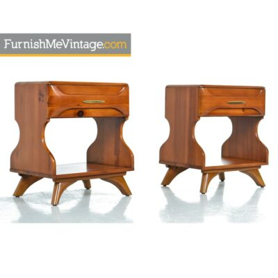 sculptured pine,franklin shockey,nightstands,rustic,modern