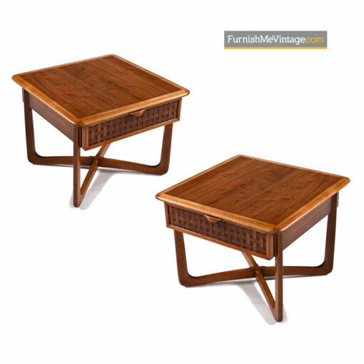 Lane Perception Lamp Table - Mid Century Modern