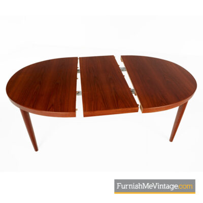 skovmand andersen,danish,teak,oval,dining table,modern