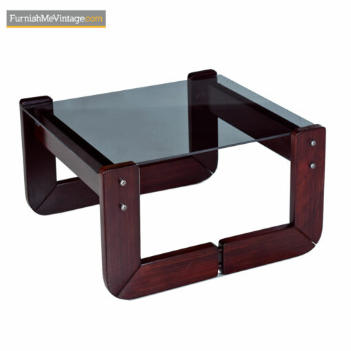 Percival Lafer Rosewood Brazilian Modern 3-Piece Coffee Table Living Room Set