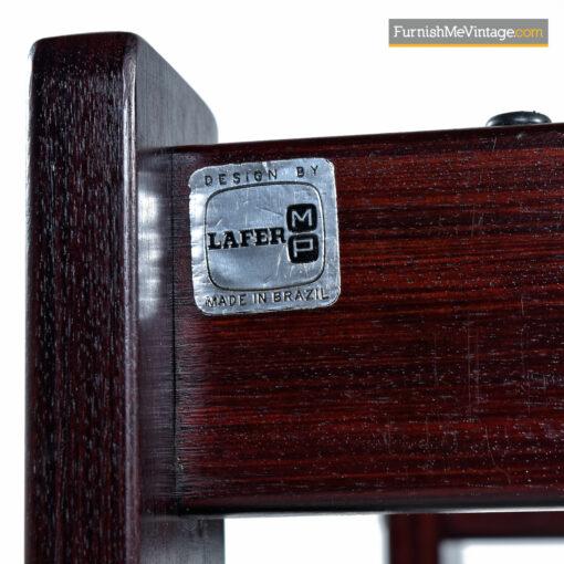 Percival Lafer Rosewood Brazilian Modern 3-Piece Living Room Set