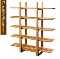 Greenington Magnolia Bamboo Bookshelf With Tiger Inlay