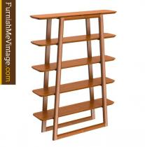 Greenington Currant Caramelized Bamboo Bookshelf