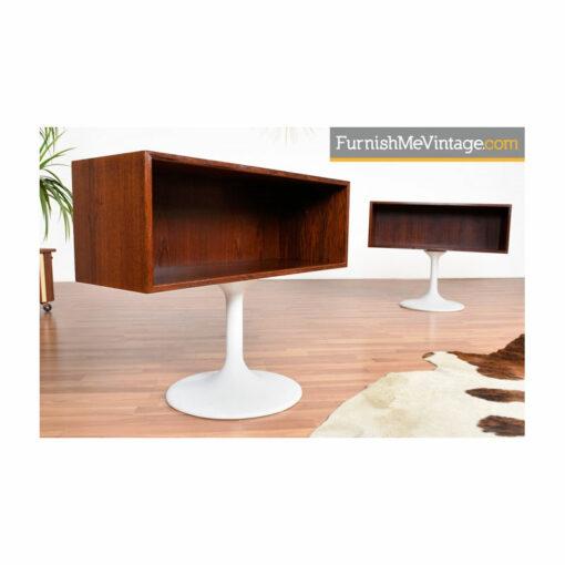 danish rosewood nightstands