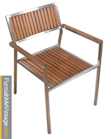 Greenington San Juan Outdoor Bamboo Arm Chair