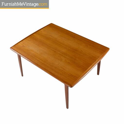 Arne Vodder Draw Leaf dining table