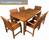Greenington Greenbank Outdoor Bamboo Dining Set