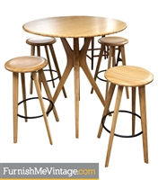 Greenington Mimosa Bar Height Dining Set