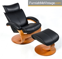 Fjords Ona Recliner with Footstool
