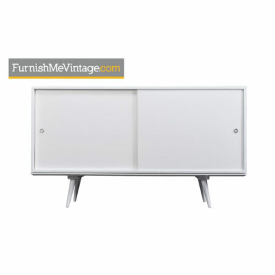 paul mccobb,planner group,winchendon,white,lacquer,buffet,credenza