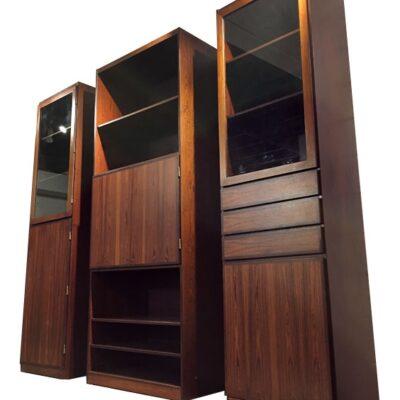 Vintage Scan Flex Rosewood Cabinets