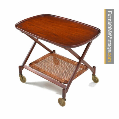 Poul Hundevad tea cart