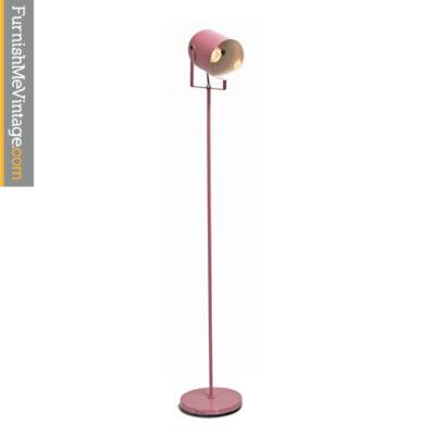 vintage pink floor lamp