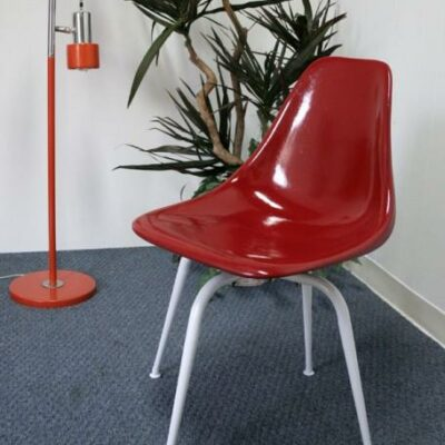 Vintage 360 Swivel Fiberglass Shell Chair