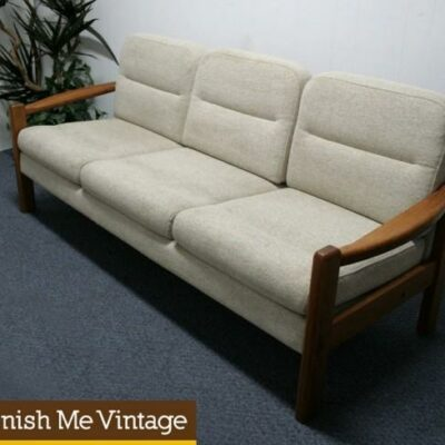 Vintage Danish Modern Domino Mobler Sofa