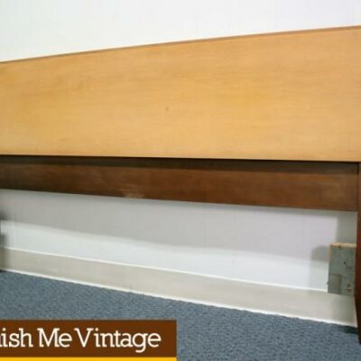 Vintage Blond Full Size Headboard by Thomasville