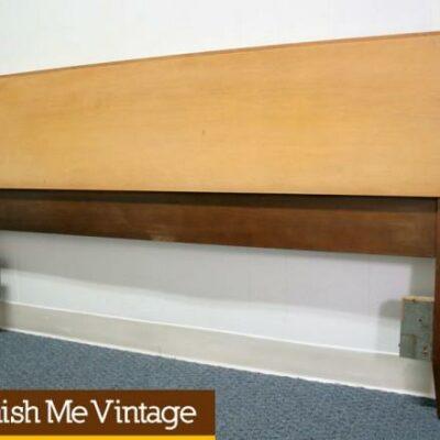 Vintage Blond Full Size Headboard by Thomasville