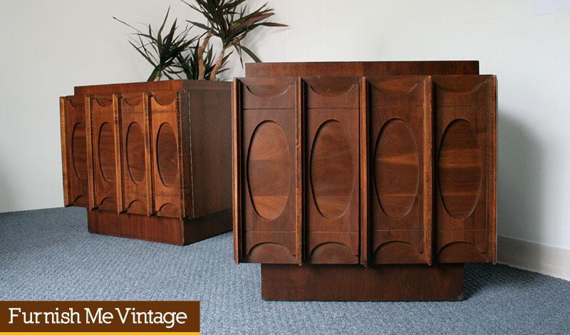 2 Mid Century Modern Canadian Brutalist, Modern Mid Century Furniture Canada