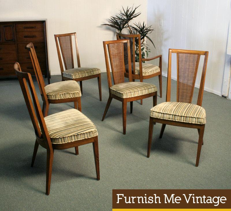 Fabulous 6 Mid Century Modern Drexel Panorama Dining Chairs Dailytribune Chair Design For Home Dailytribuneorg