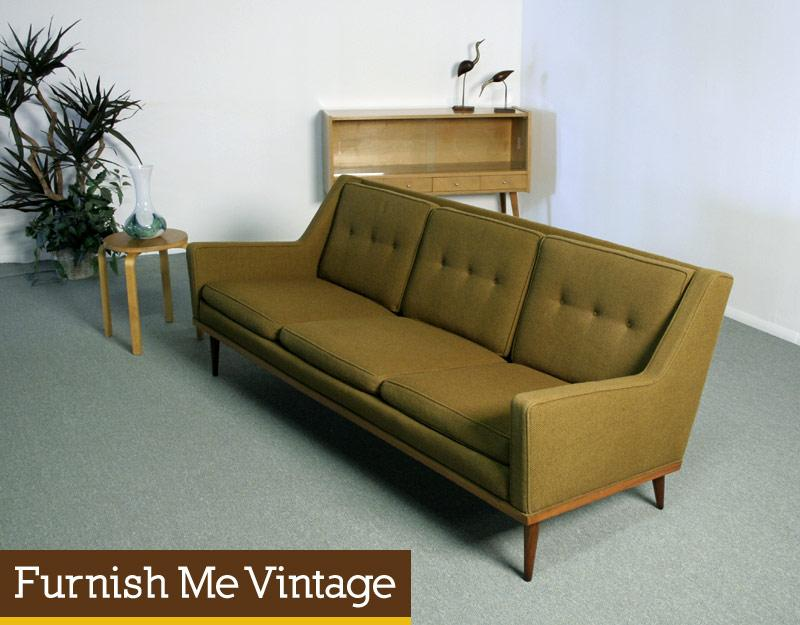 Mid Century Modern Milo Baughman Sofa Couch James Inc.
