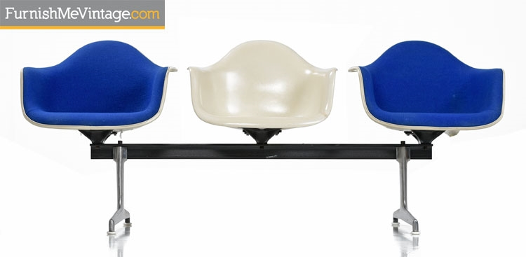 Charles Eames for Herman Miller Shell Chair Bench