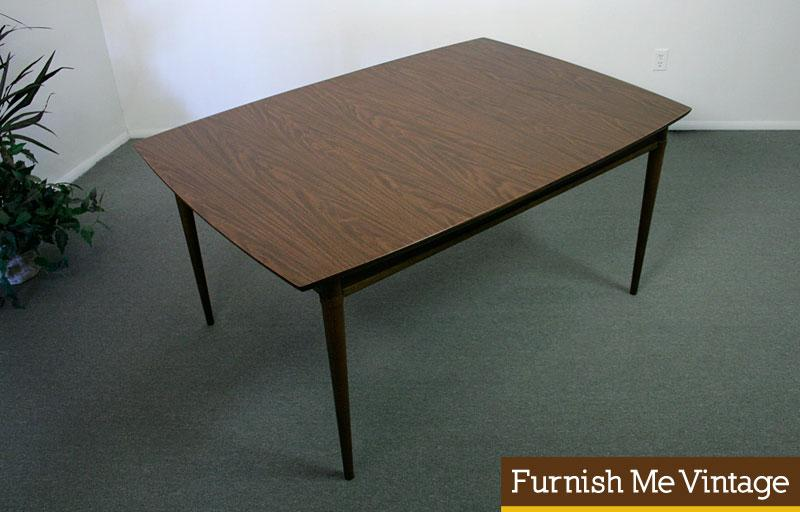 Mid Century Modern Formica Top Dining Table - Mid century modern formica table