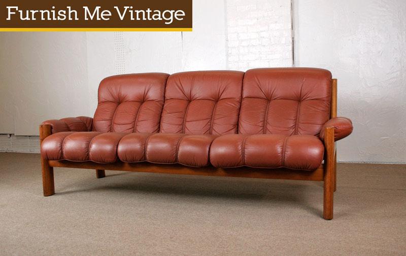 Prime Vintage Ekornes Norwegian Modern Teak Leather Sofa Pdpeps Interior Chair Design Pdpepsorg