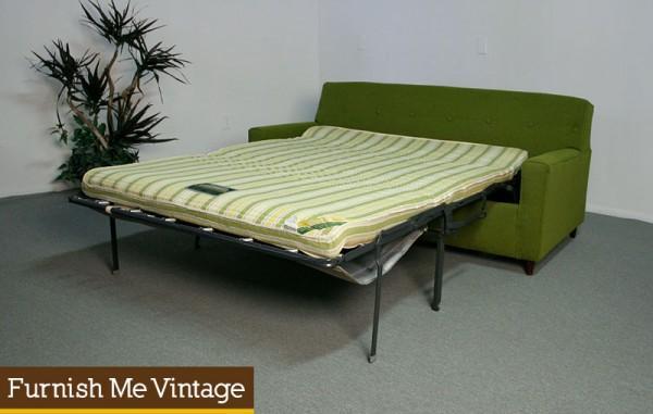Miraculous Vintage Mid Century Modern Kroehler Sleep Or Lounge Sofa Bed Creativecarmelina Interior Chair Design Creativecarmelinacom