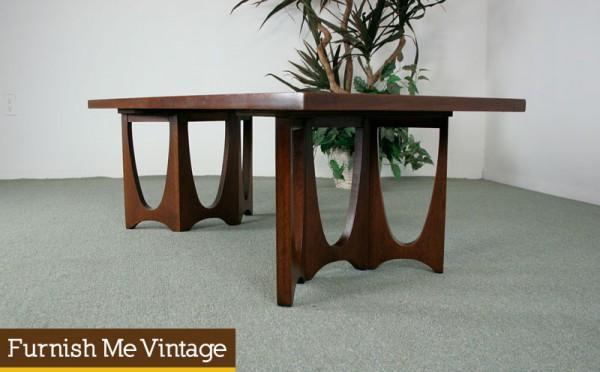 Mid Century Modern Broyhill Brasilia Coffee Table