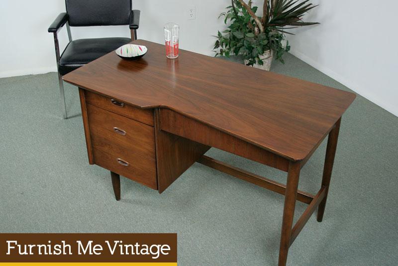 Unique Retro Atomic Age Desk