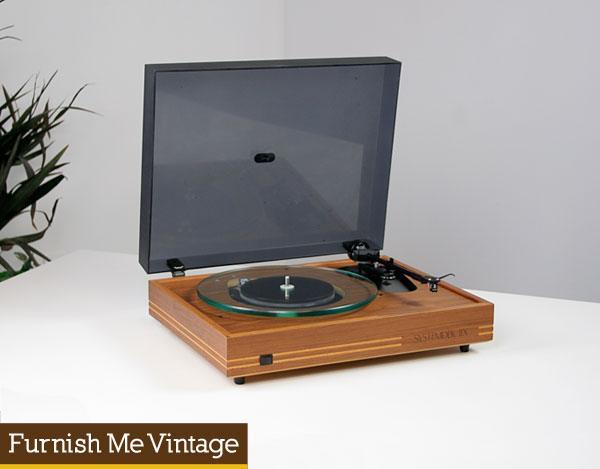 Vintage Systemdek IIX Record Player Turntable
