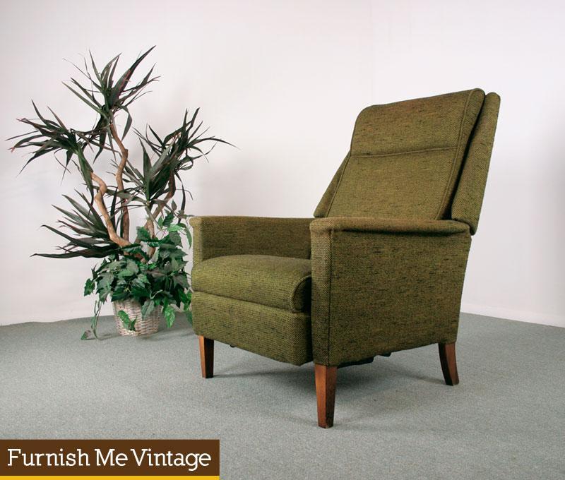 Vintage La Z Boy Reclining Lounge Chair