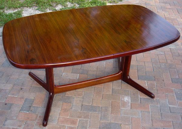 Skovby Danish Rosewood Dining Table