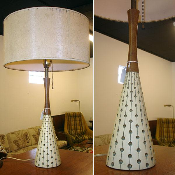 Mid Century Modern Danish Table Lamp