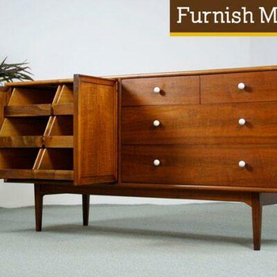Kipp Stewart ,Stewart MacDougall,Mid Century Modern, Drexel, Declaration Dresser,