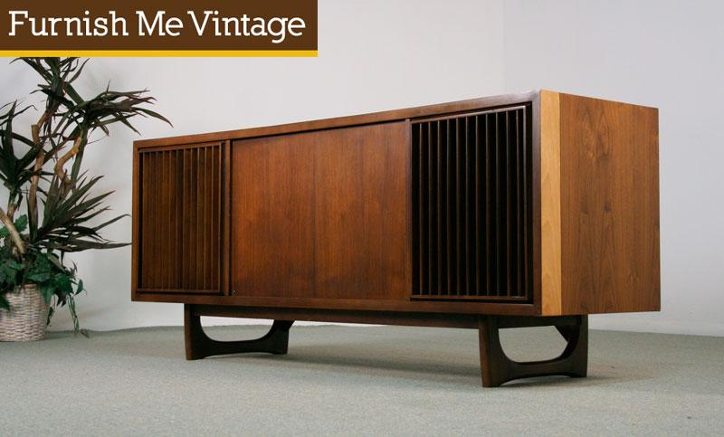Refinished Working Retro RCA Victor New Vista Console Stereo
