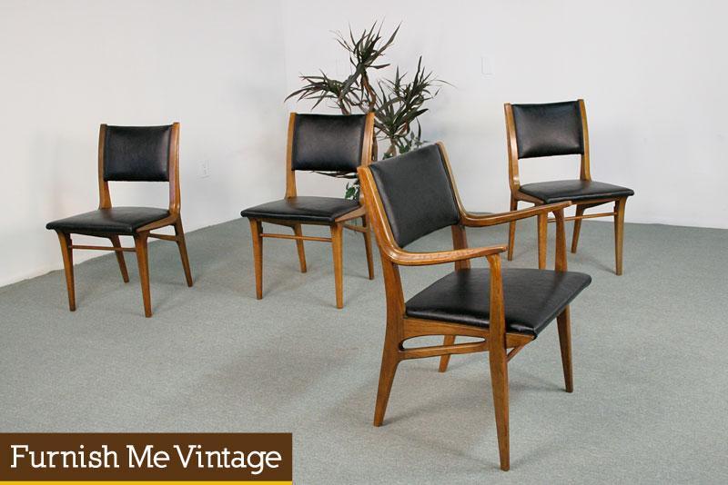 Astonishing Mid Century Modern Drexel Profile K64 Dining Chairs Dailytribune Chair Design For Home Dailytribuneorg
