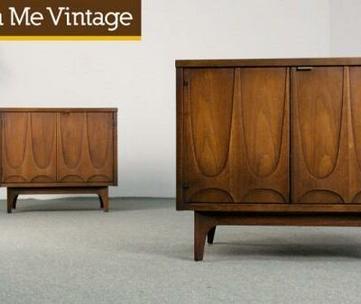 broyhill brasilia commode,nightstands,end tables,walnut, cabinets