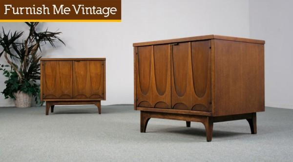 Brasilia Commode Side Table Cabinets