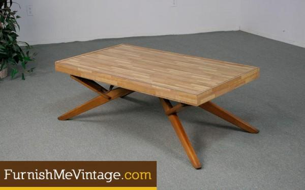 Retro Castro Convertible Coffee Side Dining Table