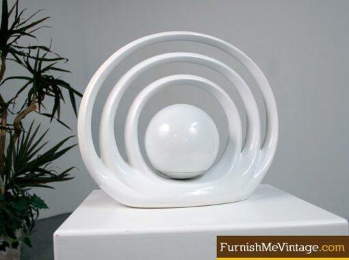 Modern Rougier Style Ellipse Table Lamp