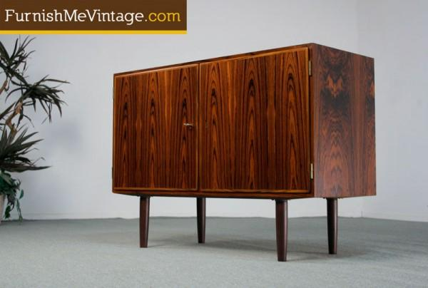Small Danish Credenza : Small mid century teak credenza by younger