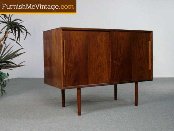 Small Danish Credenza : Small danish teak wooden sideboard room of art