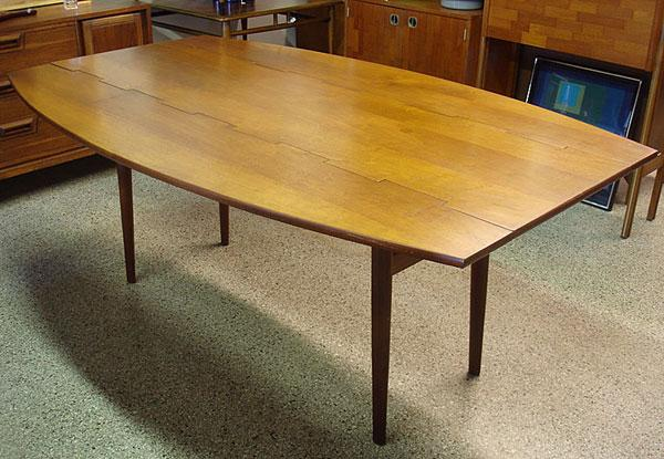 Drexel Parallel Vintage Mid Century Modern Dining Table - Mid mod dining table