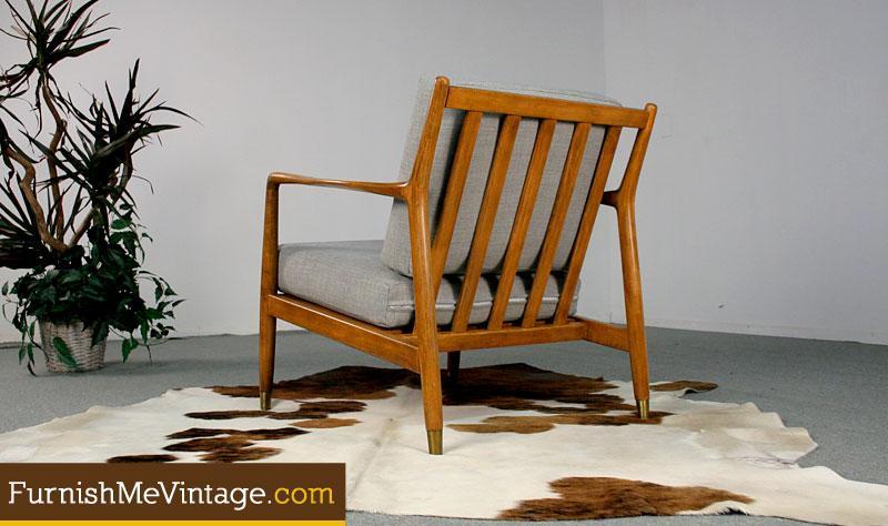 Mid Century Modern Folke Ohlsson For Dux Lounge Chair
