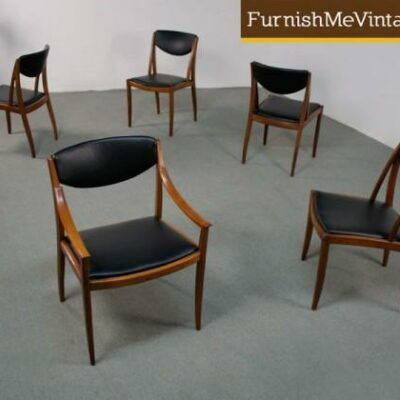 Modern, Drexel Dining Chairs,barney flagg, parallel