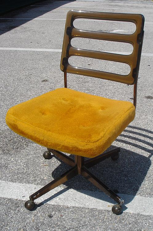 Phenomenal Harvest Gold Chromcraft Swivel Chair Cjindustries Chair Design For Home Cjindustriesco