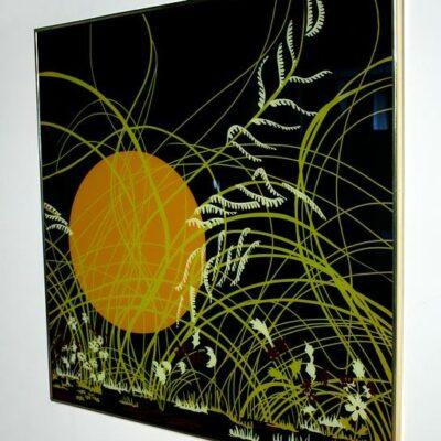 Mid Century Modern Glass Art Print