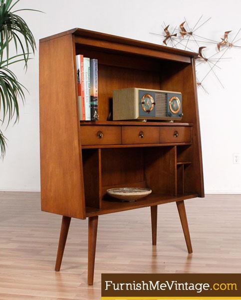 Mini Mid Century Modern Bookcase
