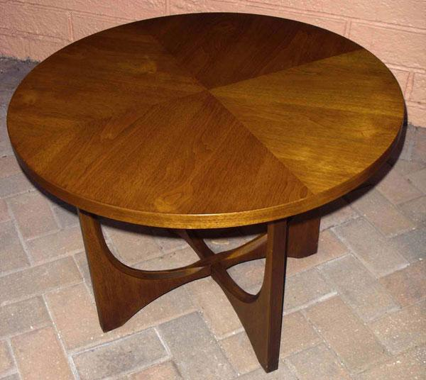 Brasilia round lamp table side table broyhill brasilia round lamp table side table aloadofball Choice Image